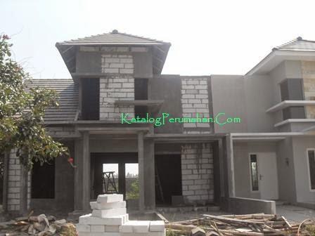 Pembangunan rumah baru Mandiri Residence