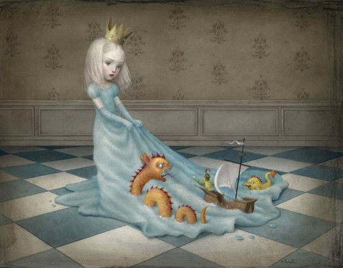 15-Love-will-tear-us-apart-Nicoletta-Ceccoli-Surreal-Fairy-Tales-NOT-for-Children-www-designstack-co