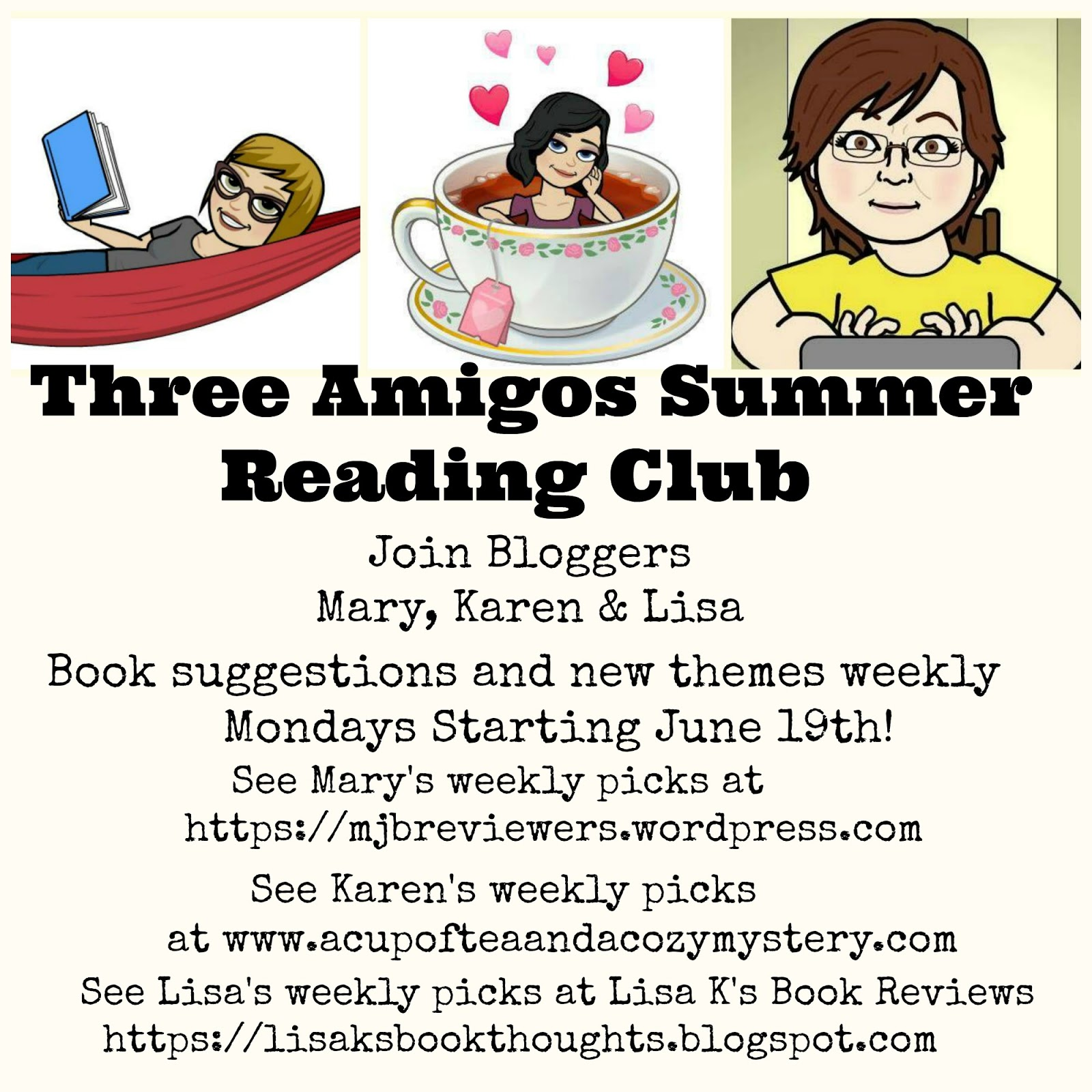 Three Amigos Summer Reading Club