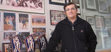 Paco García. Trofeos CB Breogán