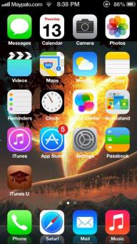 Download iOS 7 Theme Agar iPhone Anda Bergaya iOS 7