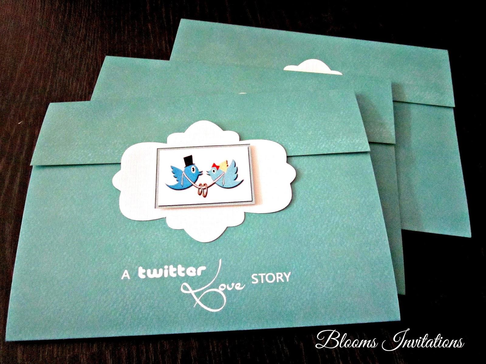 twitter wedding invitation