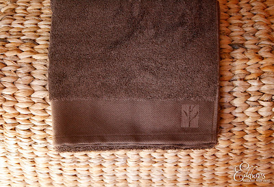 serviette en bambou