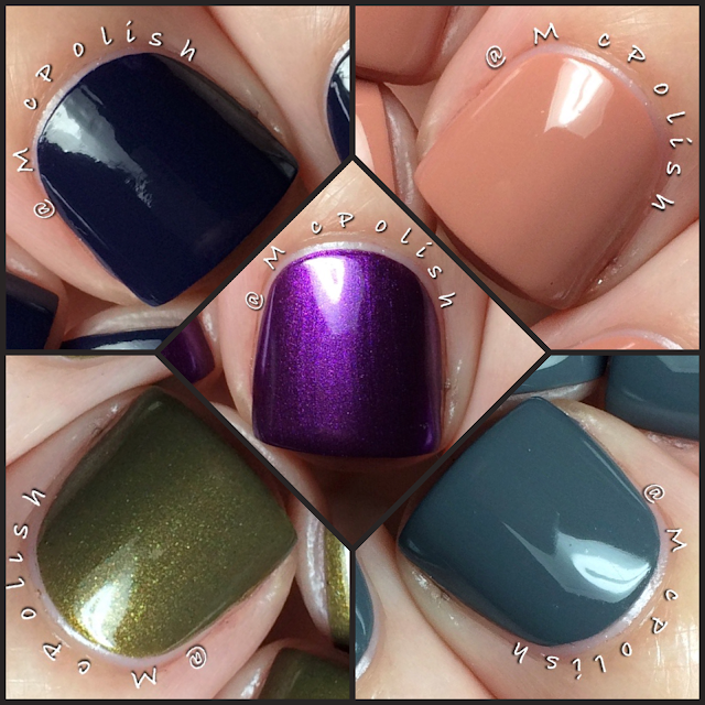 Lisa Nail Lacquer - Fall/Winter 2015 Collection - McPolish