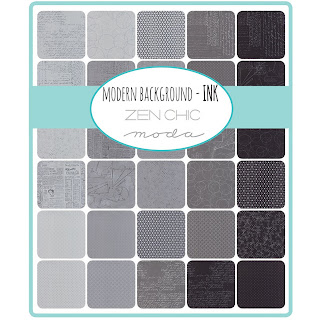 Moda Modern Background Ink Fabric by Zen Chic for Moda Fabrics