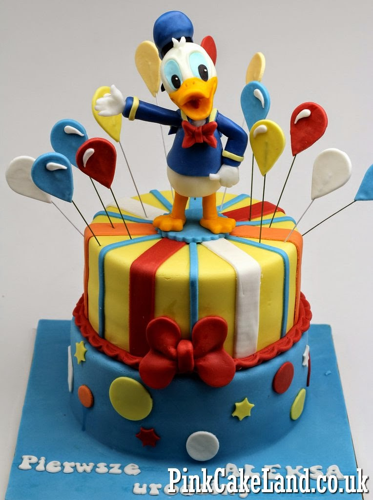 Donald Duck Birthday Cake Ideas And Designs