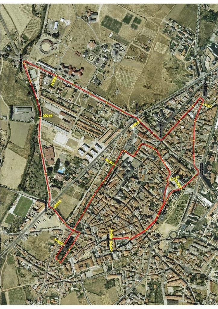 circuito carrera Santo TOribio Astorga