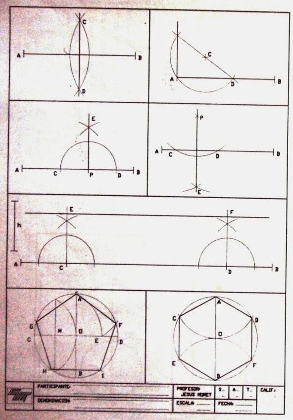 Dibujo Tcnico  y algo ms CONSTRUCCIN GEOMTRICA
