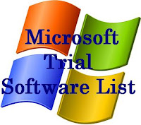 Microsoft Trial Software