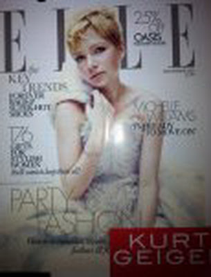 Celebrity Michelle Williams Poses Elle Uk