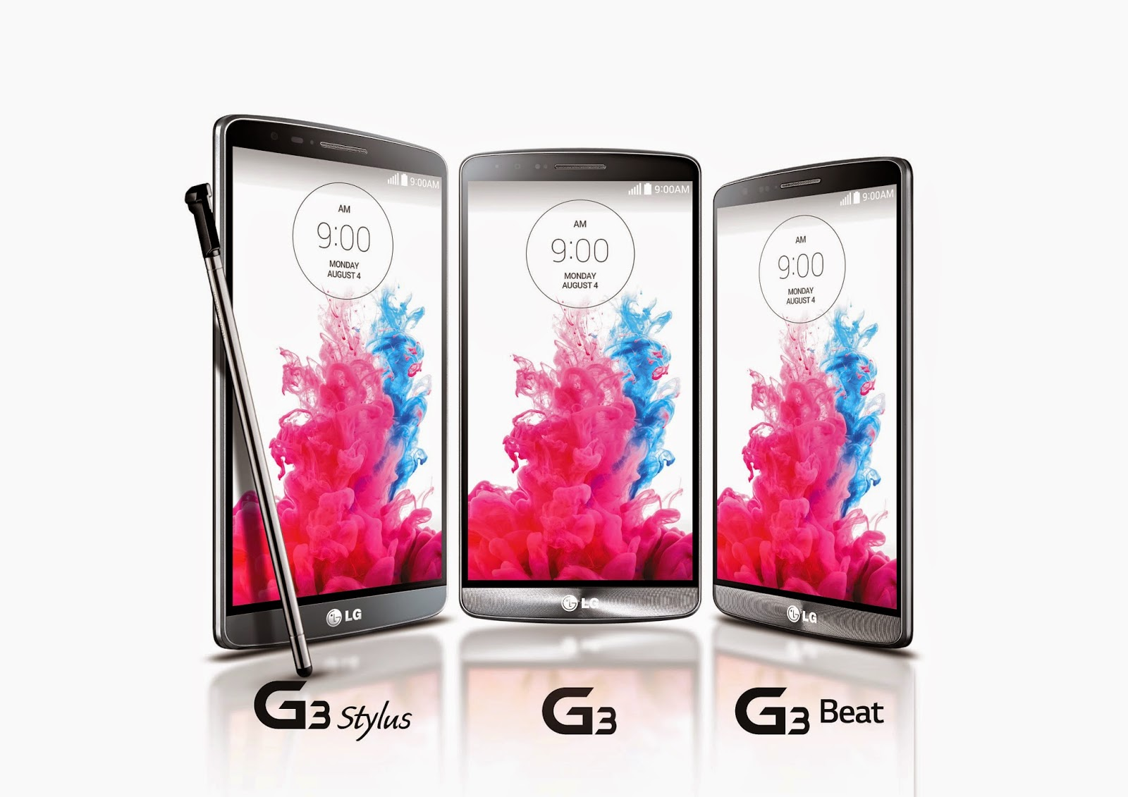 Completing The LG G3 Series LG G3 Stylus Amp G3 Beat With G