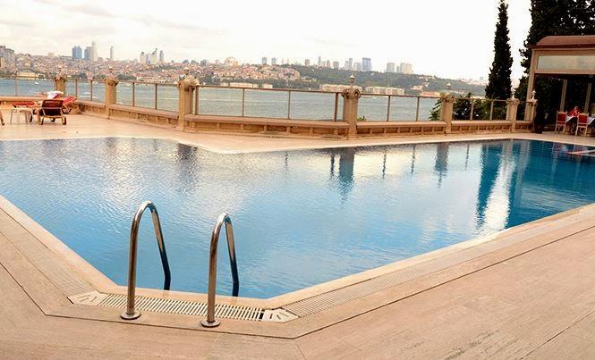 İstanbul'un En İyi Yüzme Havuzları / Sözbir Bosphrous Havuz