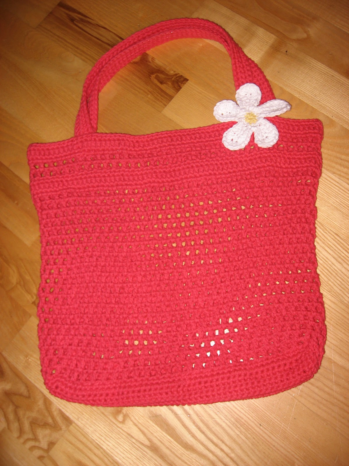 Crochet Tote Bag Tutorial Part 1 : Crochet Projects: Market Bags Part 2