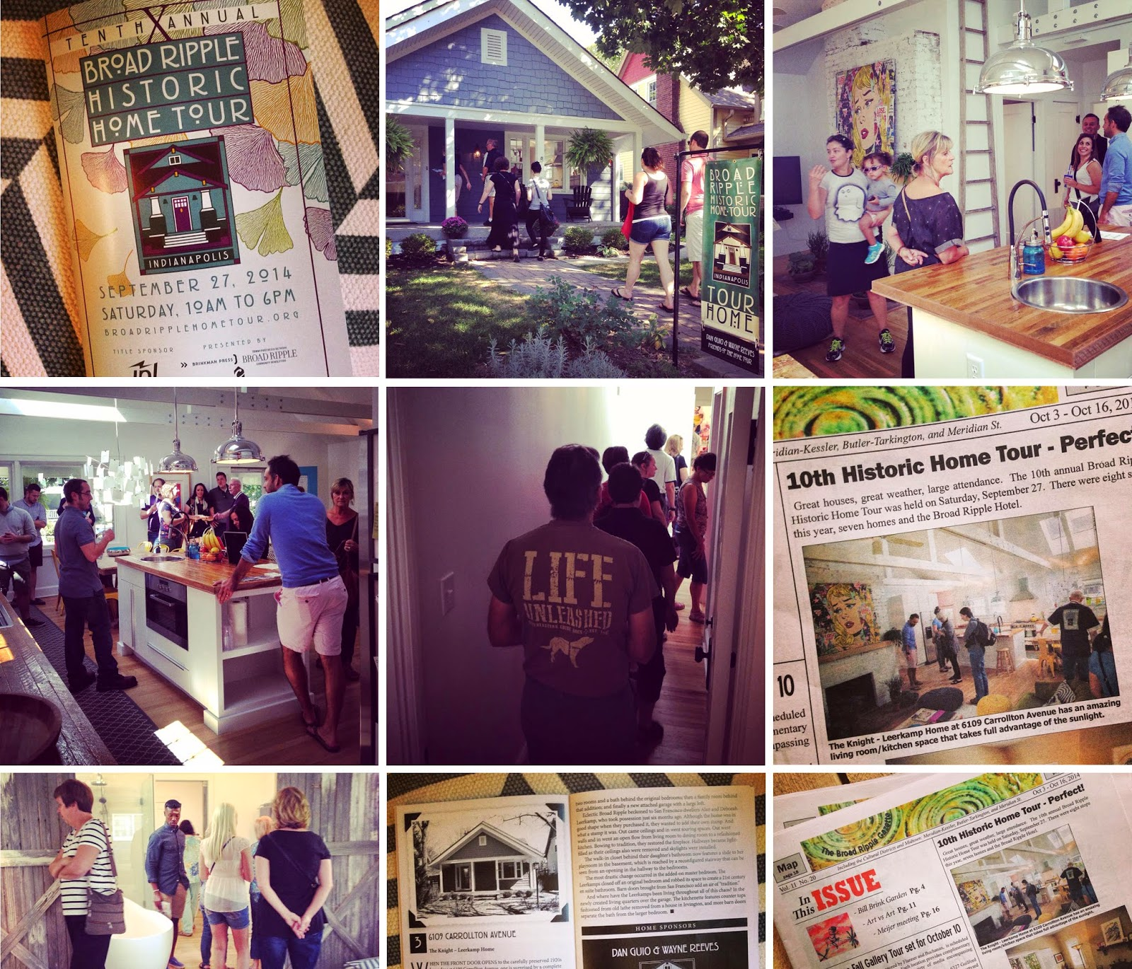 Broad Ripple Historic Home Tour.
