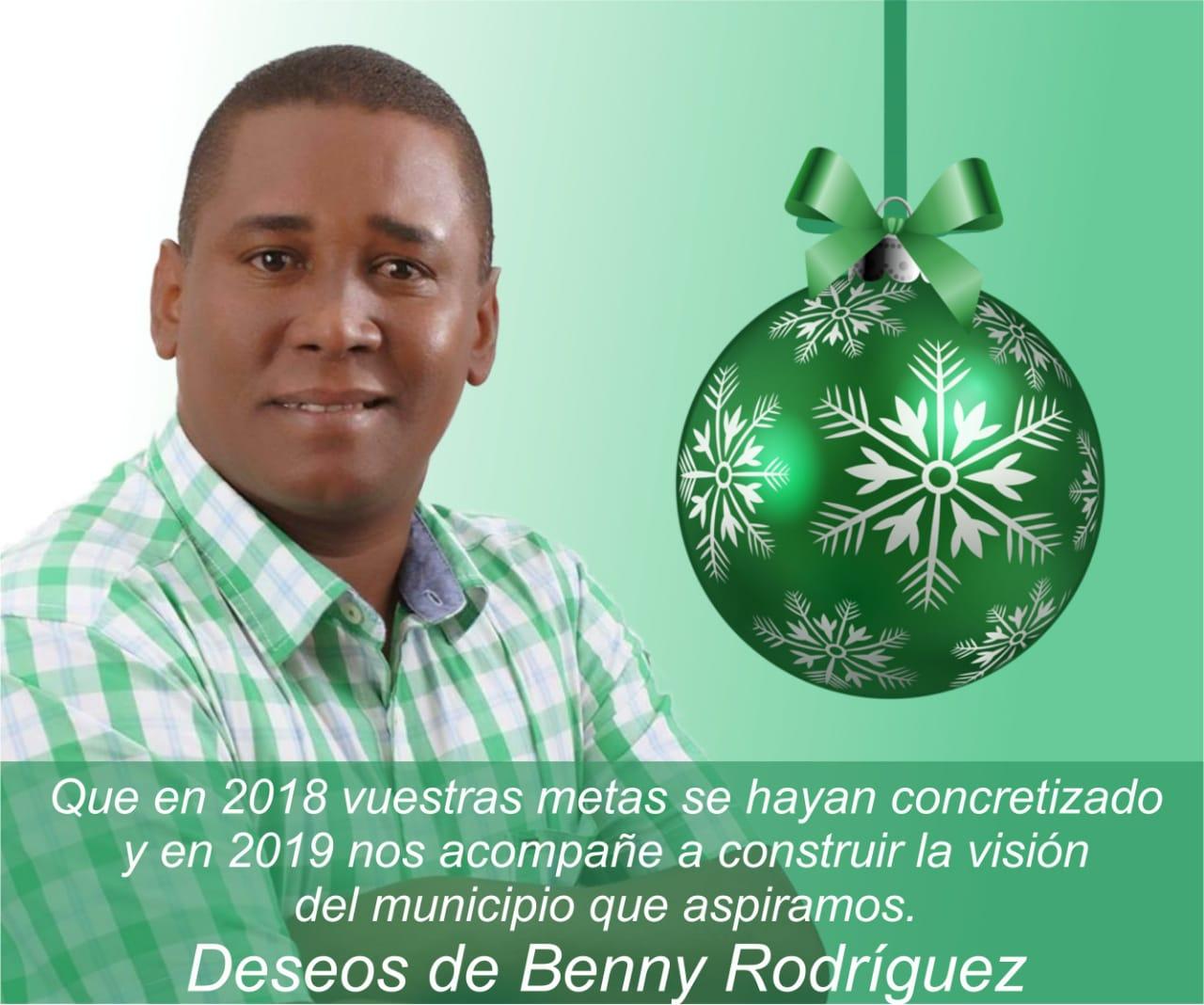 BENNY RODRÍGUEZ PRECANDIDATO A LA ALCALDÍA DE BARAHONA