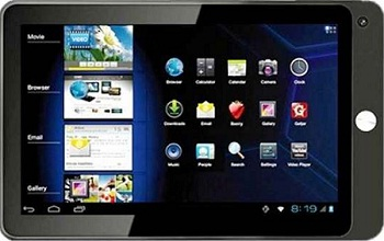 Top tablets of 2012 in India