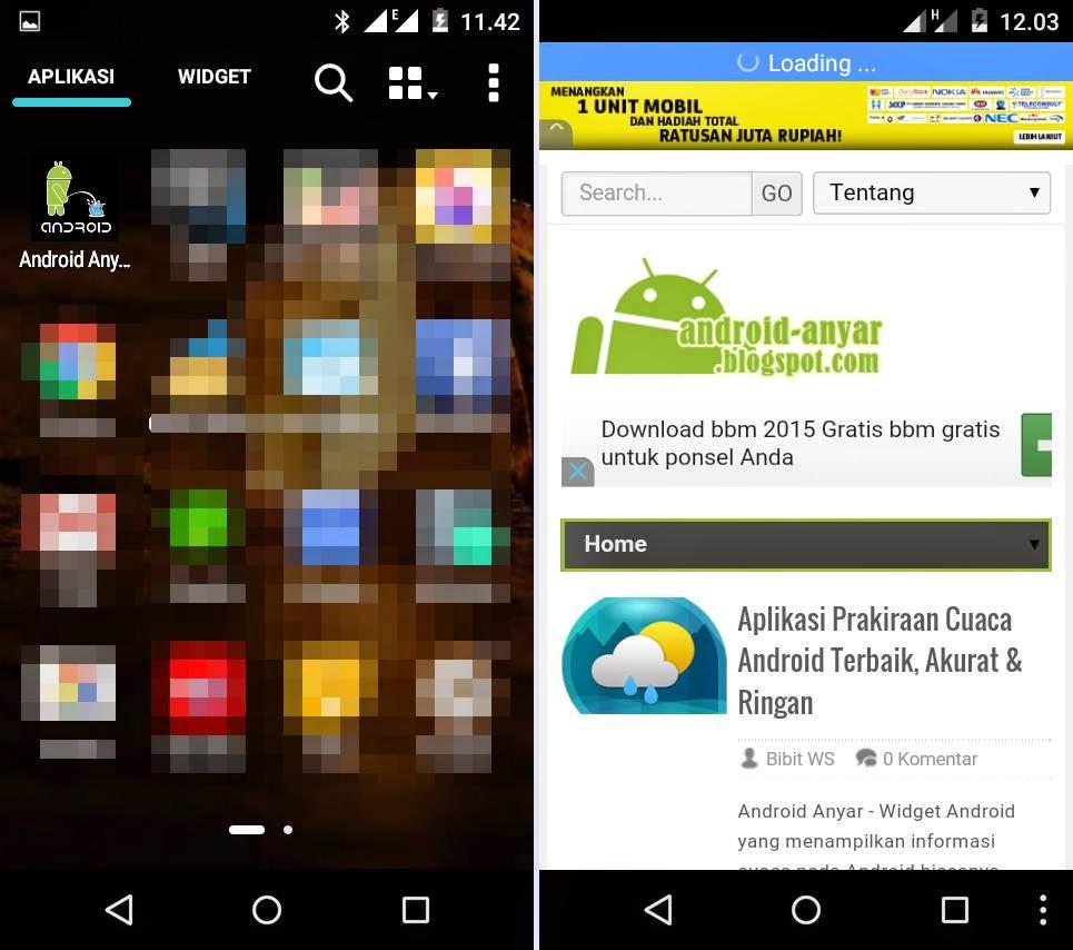 Contoh aplikasi AndroidIndo.net apk dari BIKIN APLIKASI