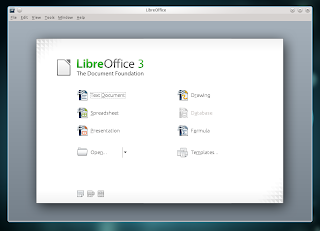 Kubuntu 11.04 Libre Office