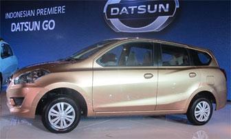 Peluncuran Mobil Datsun Go+ Panca Harga Murah.