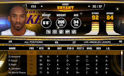 NBA 2K13 Final Official Roster 2K Update