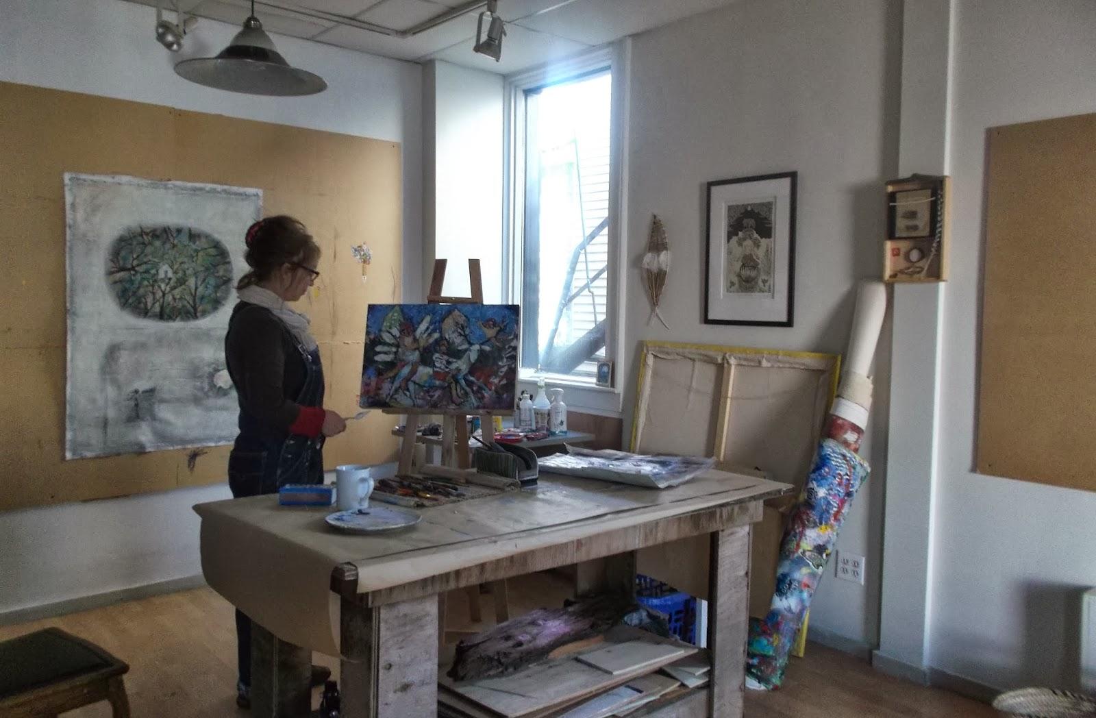 Le petit studio sutton espace a louer dans l 39 atelier d 39 artiste - Atelier d artiste a louer ...