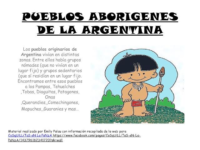 APOYO ESCOLAR ING MASCHWITZ: PUEBLOS ABORÍGENES DE LA ARGENTINA