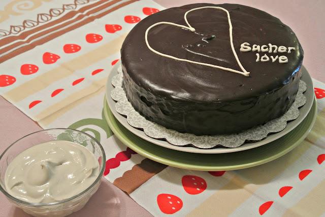 chocolate tart with apricot jam sacher torte global table sacher torte ...