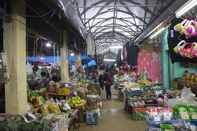 Market, Doi Ang Khang, Thailand