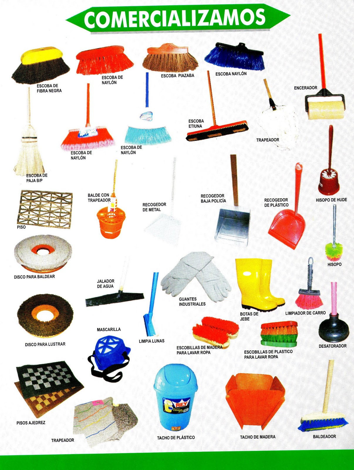 Corporaci n nativa trading for Productos limpieza cocina