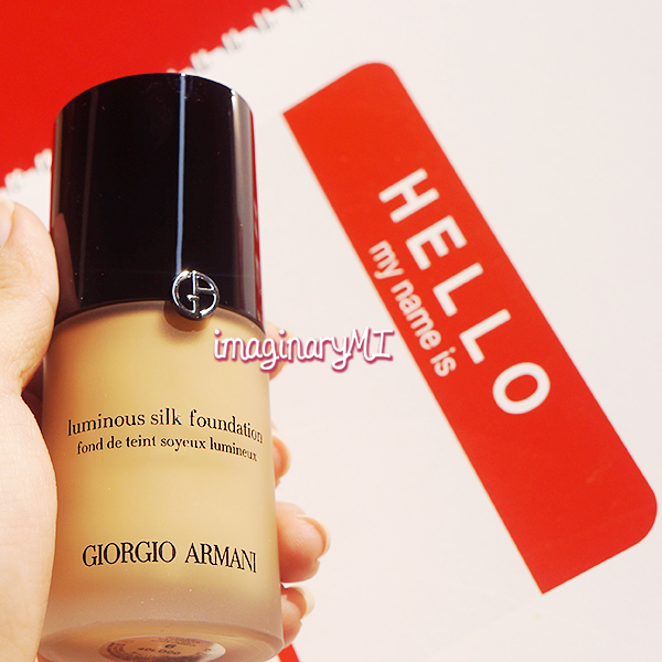 Beauty blogger Indonesia Raden Ayu giorgio armani luminous silk foundation no.6 review