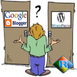 Blogger chuyên nghiệp nên chọn Google Blogger hay Wordpress để phát triển Blog của mình?