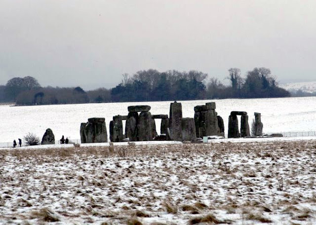 Stonehenge a Winters Day