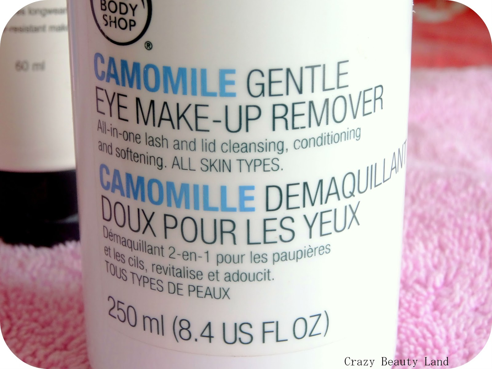 The Body Shop Camomile Gentle Eye Makeup Remover Review