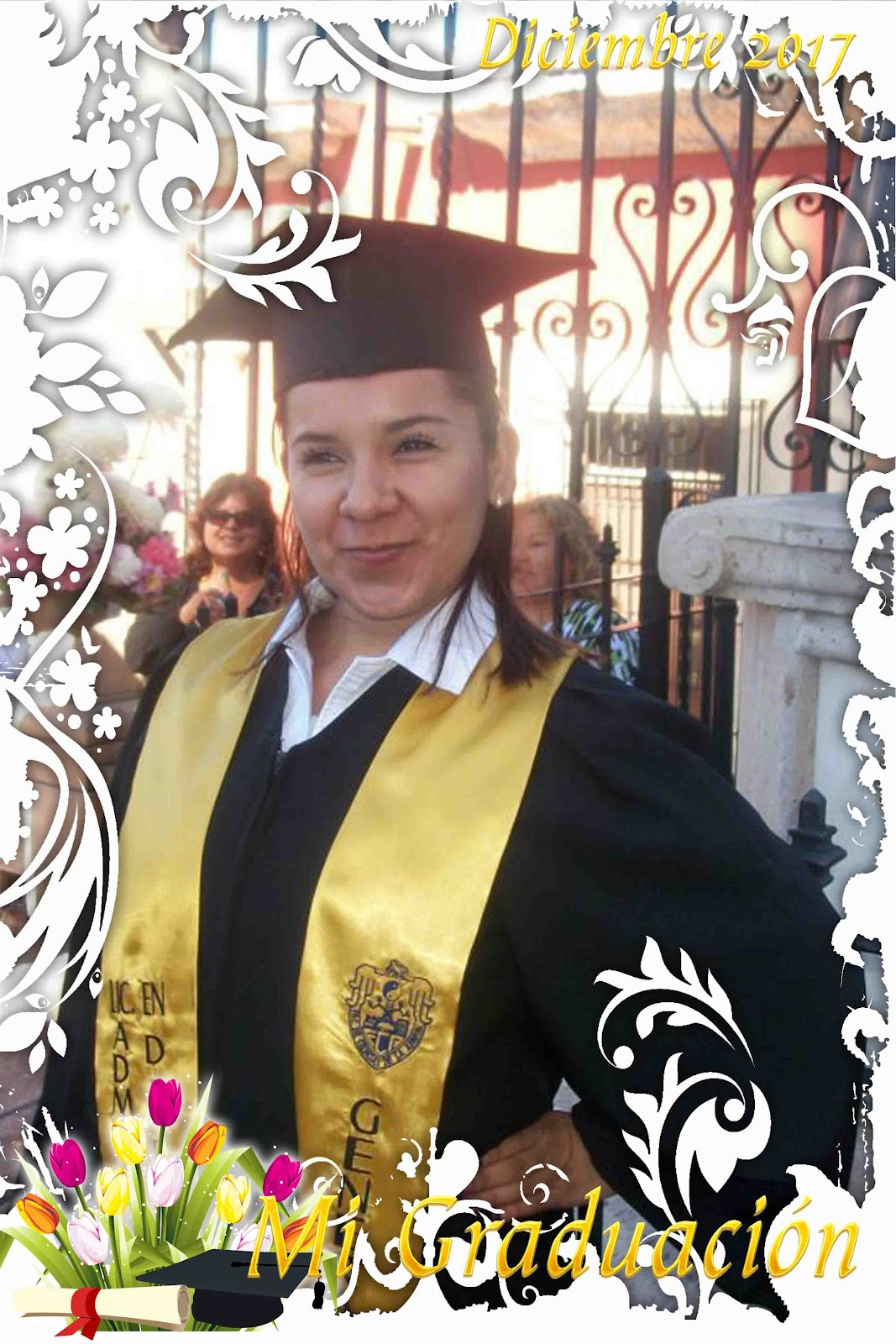Marco creativo para foto de graduación - **El blog del diseñador ...