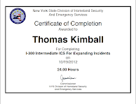 Thomas Q Kimball I-300 Intermediate ICS For Expanding Incidents.