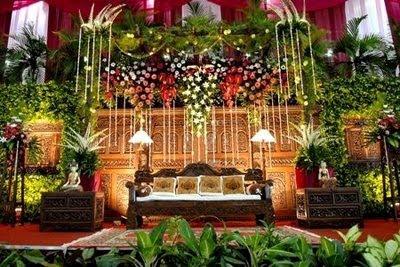 dekorasi pernikahan dengan konsep modern ~ penyewaan alat