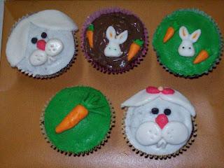 Páscoa decoraçãod e cupcakes