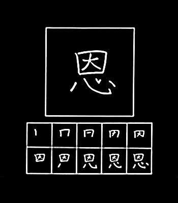 kanji keindahan