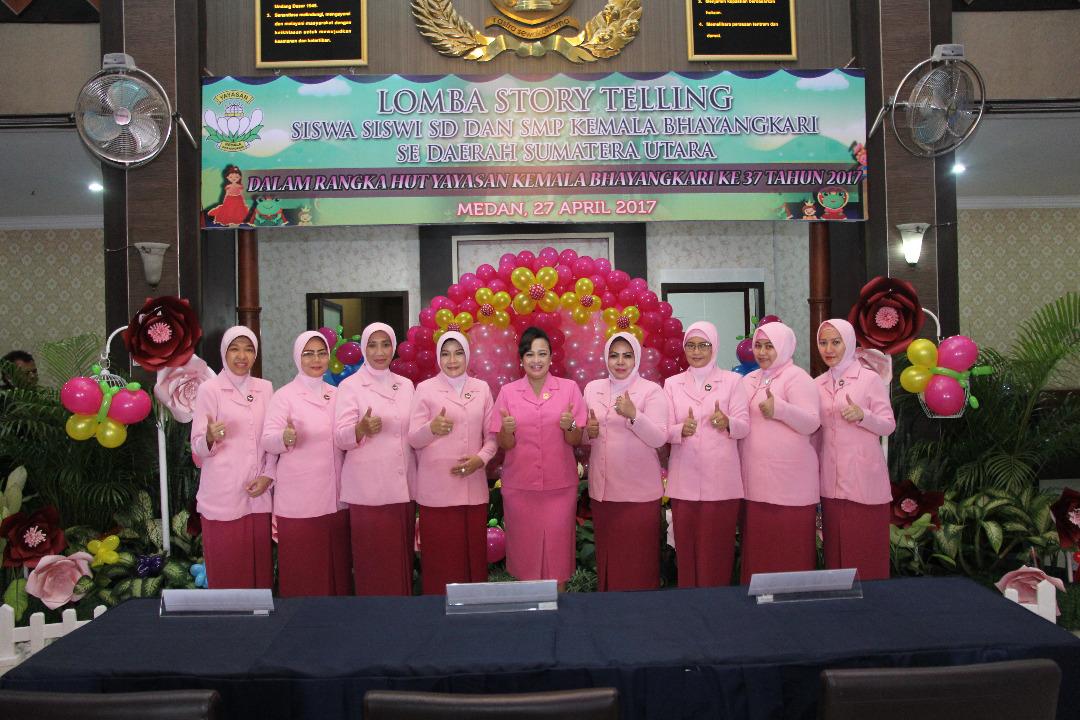 HUT ke 37, Yayasan Kemala Bhayangkari Adakan Berbagai Kegiatan