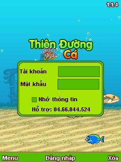 Giới thiệu game thiên đường cá