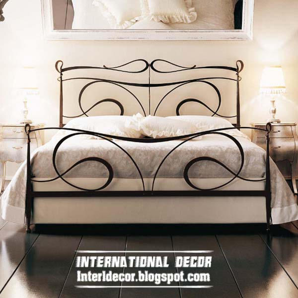 Wrought Iron Bed Designs Iron Forged Furniture Designs For Bedroom