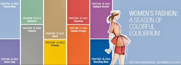 Colors spring 2014, pantone 2014, colecionadora de moda