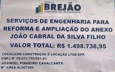 Reforma da Escola João Cabral