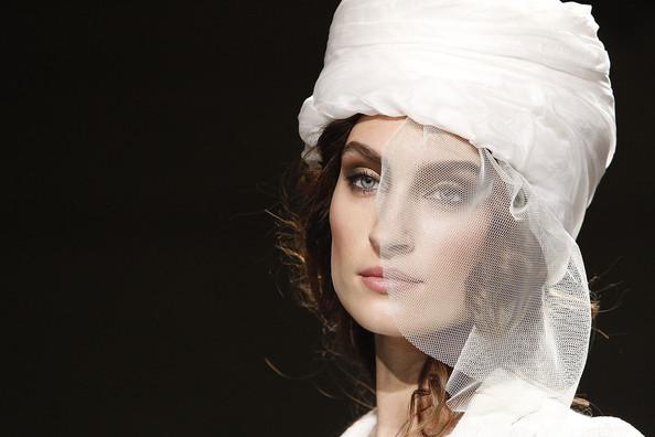 Fashion Model Ramp Walk on General Defile