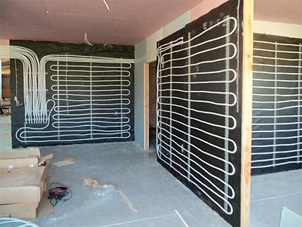 Riscaldamento a parete con i pannelli radianti pannelli - Sistemi per riscaldare casa ...