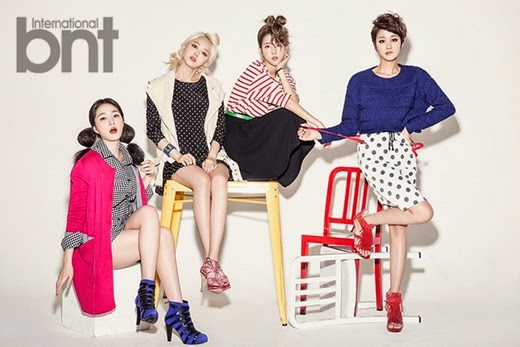Spica - bnt International March 2014 Casual Beauties