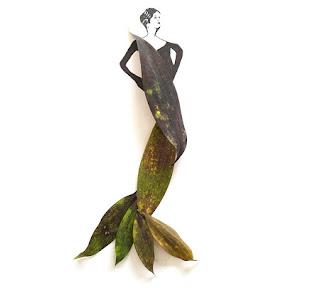 Arte y Naturaleza, Ilustraciones con Hojas