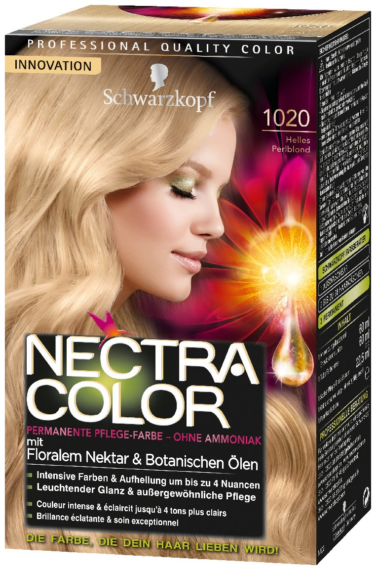 schwarzkopf nectra color range is available to buy now in department stores throughout switzerland - Schwarzkopf Nectra Color