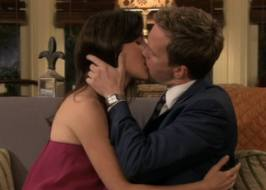 Robin and Barney from How I Met Your Mother on CBS