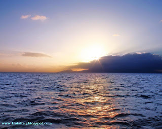 Sun Sliver 2014 HD Wallpapers - Caribbean Sun Set 2014 Wallpapers - Sun Sat 2014 HD Wallpapers
